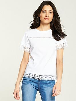 v-by-very-lace-trim-tee-white