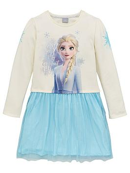 Disney Frozen Disney Frozen Girls Disney Frozen 2 Soft Touch Dress - Blue Picture