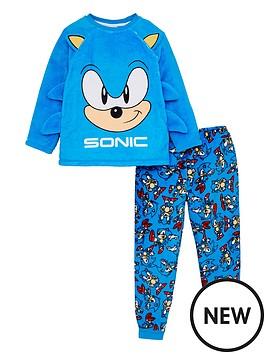 sonic-the-hedgehog-boys-fleece-2-piece-set-blue
