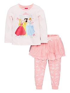 disney-princess-girls-pyjama-amp-tutu-set-pink