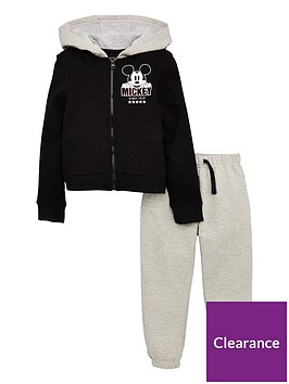 mickey-mouse-boys-cool-hoodie-amp-jogger-set-blackgrey