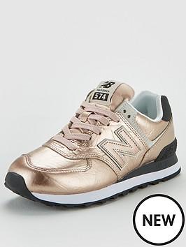 new-balance-574-metallic-leather-trainer-rose-gold