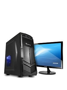 pc-specialist-fusion-core-amd-athlon-200ge-8gb-ramnbsp3tb-hard-drive-integrated-vega-graphics-gaming-desktop-pc-black-samsung-monitor