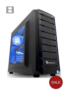 pc-specialist-stalker-contact-2060-intel-core-i7-8700nbsp16gb-ramnbsp256gb-ssd-1tb-hard-drive-gaming-desktop-pc-withnbsp6gb-nvidia-rtx-2060-graphicsnbsp--black