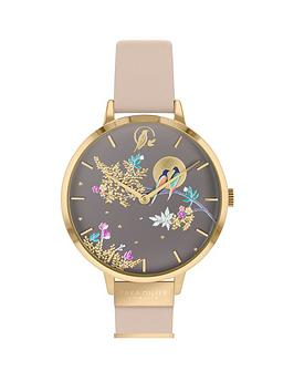 Sara Miller Sara Miller Sara Miller Chelsea Grey And Gold Detail 34Mm Dial  ... Picture