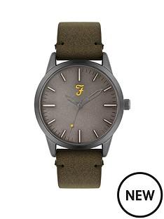 farah-farah-grey-dial-brown-leather-strap-mens-watch