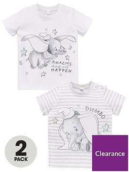 disney-dumbo-baby-unisex-dumbo-2-pack-t-shirts-whitegrey