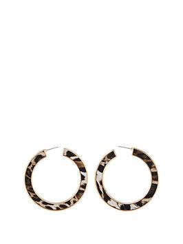 michelle-keegan-leopard-statement-hoop-earrings