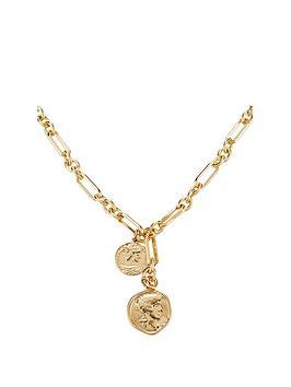 v-by-very-charm-chain-choker-gold-tone