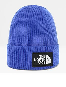 the-north-face-logo-box-cuffed-beanie-bluenbsp