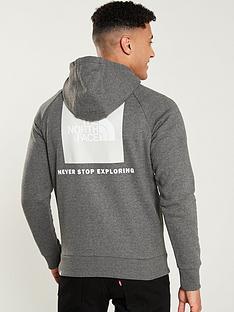 the-north-face-raglan-red-box-hoodienbsp--medium-grey-heather