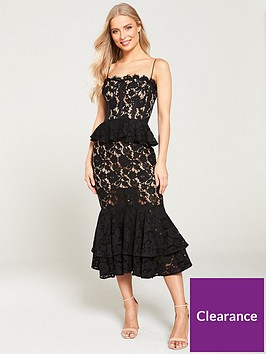 jarlo-daphne-lace-peplum-midi-dress-black