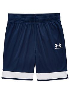 under-armour-youth-challenger-lll-knit-shorts-navy