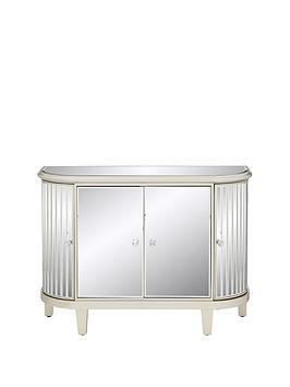 Very Venetian 4 Door Curved Glass Sideboard Picture