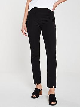 V by Very V By Very The Cigarette Trouser - Black Picture