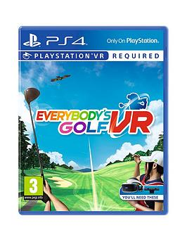 Playstation 4 Playstation 4 Everybodys Golf Vr - Vr Required Picture