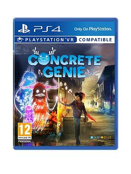 Playstation 4 Playstation 4 Concrete Genie - Vr Compatible Picture