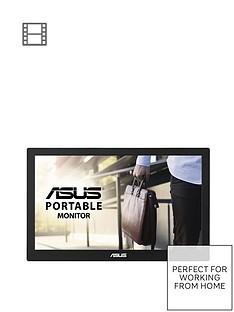 asus-mb168b-portable-usb-monitor-156-inch-hd-usb-powered-ultra-slim-smart-case