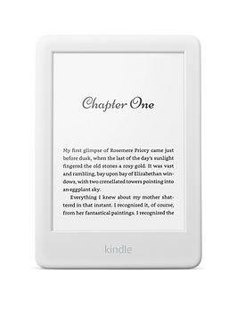 All-new Kindle with a built-in front light - with Special Offers - White
