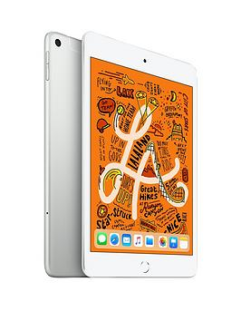Apple Apple Ipad Mini (2019), 256Gb, Wi-Fi &Amp; Cellular - Silver Picture