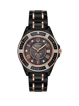 bulova-black-diamond-set-date-dial-black-and-rose-gold-detail-ceramic-bracelet-ladies-watch