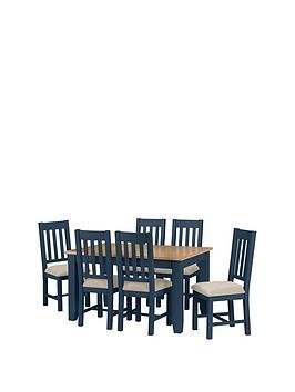Julian Bowen Julian Bowen Richmond 140 - 180 Cm Extending Oak Dining Table  ... Picture