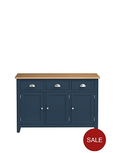 Julian Bowen Richmond Large Sideboard Midnight Blue