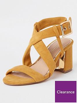river-island-river-island-cross-strap-block-heel-sandals-yellow