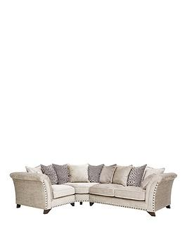 Very Caprera Fabric Left Hand Scatter Back Corner Group Sofa Picture