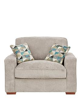 Very Miller Fabric Cuddle Chair Picture