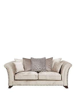 Very Caprera Fabric 3 Seater Sofa Picture