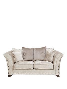 Very Caprera Fabric 2 Seater Scatter Back Sofa Picture