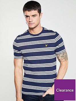 lyle-scott-striped-t-shirt-navy