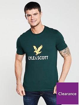 lyle-scott-logo-t-shirt-green