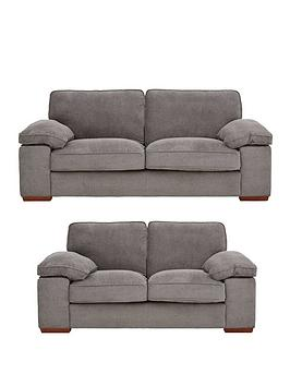 Very Blakely Fabric 3 Seater + 2 Seater Sofa Set (Buy And Save!) Picture