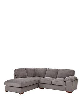 Very Blakely Fabric Left Hand Corner Chaise Sofa Picture