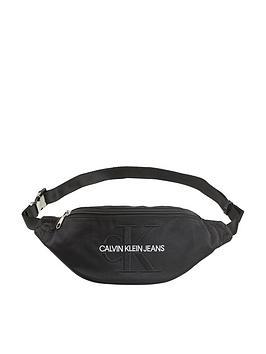 calvin-klein-monogram-bum-bag-black