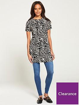 v-by-very-plisse-tunic-zebra