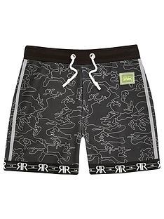 river-island-boys-ri-active-camo-shorts-black