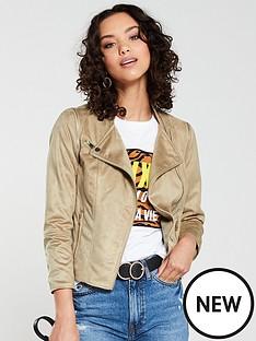 river-island-river-island-faux-suede-biker-jacket--light-brown