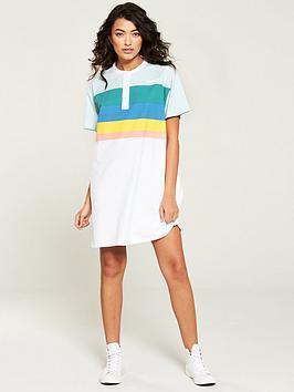 Wrangler Wrangler Rainbow Polo Dress - White Picture