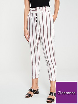 river-island-tie-waist-peg-trousers-red-stripe