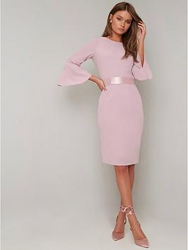 chi chi london Chi Chi London Yohana Dress - Pink