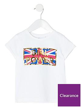 river-island-mini-mini-girls-girl-power-t-shirt-white