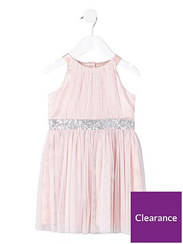 river-island-mini-mini-girls-mesh-sequin-occasion-dress-pink