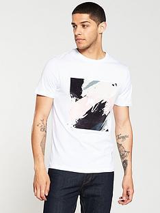 river-island-white-smudge-print-slim-fit-t-shirt