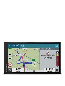 Garmin   Drivesmart 55 Mt-D 5.5 Inch Sat Nav With Edge To Edge Display, Map Updates For Uk, Ireland And Full Europe, Digital Traffic, Bluetooth Hands-Free Calling, Voice Commands And Smart Features