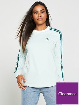 adidas-originals-3-str-ls-tee-greennbsp