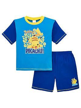 pokemon-boys-pikachu-shorty-pyjamas-blue