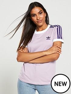 adidas-originals-3-stripe-tee-lilacnbsp